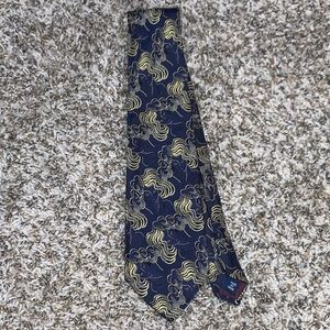 Polo Ralph Lauren Vintage USA Made 100% Silk Tie